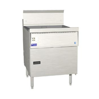 PITFBG24D - Pitco - FBG24D - 87 Lb Flat Bottom Fryer w/ Digital Controller Product Image