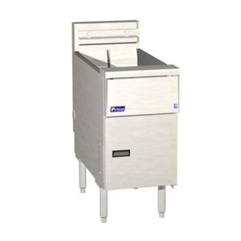 PITSE14SSTC - Pitco - SE14SSTC - Solstice 50 Lb Electric Fryer w/ Solid State Controller Product Image