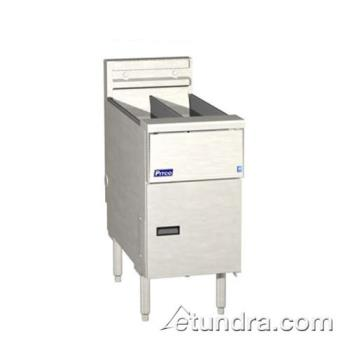 PITSE14TRSSTCS - Pitco - SE14TR-SSTC-S - Solstice Twin 25 Lb High Production Electric Fryer Product Image