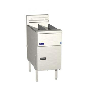 PITSE14TRD - Pitco - SE14TRD - Solstice Twin 25 Lb High Production Electric Fryer Product Image