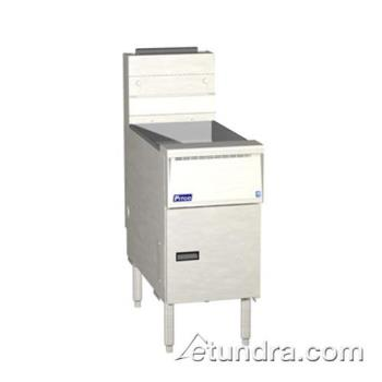 PITSG14SS - Pitco - SG14-SS - Solstice Standard Stainless Steel 50 Lb Gas Fryer Product Image