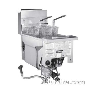 PITSG14RDI - Pitco - SG14RDI - Solstice Standard High Performance Drop-In 50 Lb Gas Fryer Product Image