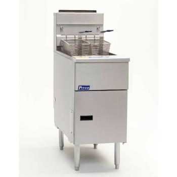 PITSG14SD - Pitco - SG14SD - Solstice 50 Lb Gas Fryer w/ Digital Controller Product Image