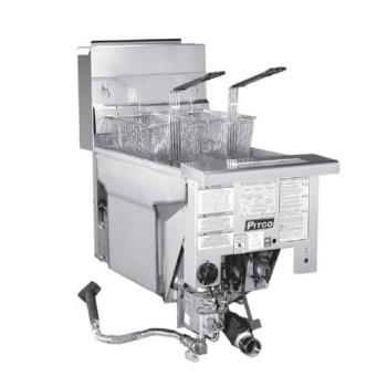 PITSG14TDI - Pitco - SG14TDI - Solstice Standard Twin Drop-In 25 Lb Gas Fryer Product Image
