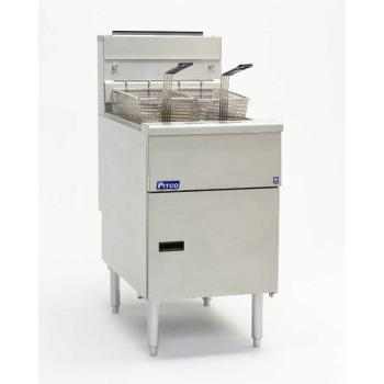 PITSG18SSSTC - Pitco - SG18SSSTC - Solstice 90 Lb Gas Fryer w/ Solid State Controller Product Image
