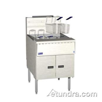 PITSGM24C - Pitco - SGM24C - Megafry 150 Lb Gas Fryer w/ Computer Controller Product Image