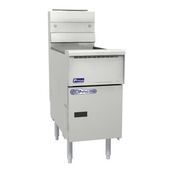 PITSSH55D - Pitco - SSH55D - Solstice Supreme 50 Lb Gas Fryer w/ Digital Controller Product Image