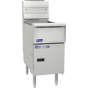 PITSSH55SSTC - Pitco - SSH55SSTC - Solstice Supreme 50 Lb Gas Fryer w/ Solid State Controller Product Image