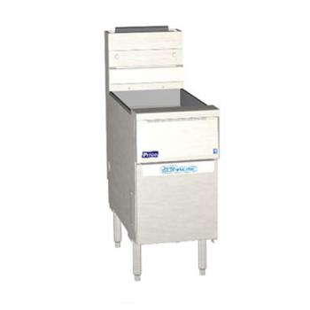 PITSSH60WRD - Pitco - SSH60WRD - Solstice Supreme High Production 60 Lb Gas Fryer Product Image