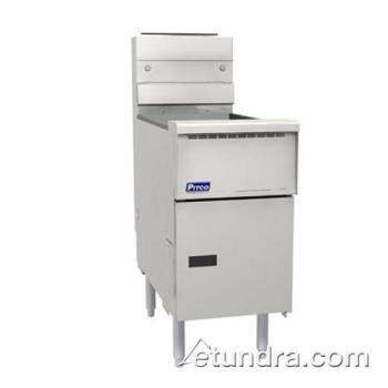 PITVF35S - Pitco - VF-35S - Solstice Value 35 Lb Gas Fryer Product Image