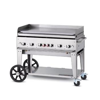 CROMG48NG - Crown Verity - CV-MG-48NG - Mobile 48 in NG Griddle Product Image