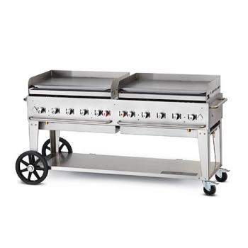 CROMG72NG - Crown Verity - CV-MG-72NG - Mobile 72 in NG Griddle Product Image