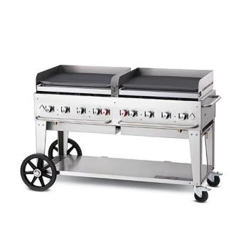 "CROMG60NG - Crown Verity - MG-60NG - Mobile 60"" NG Griddle Product Image"