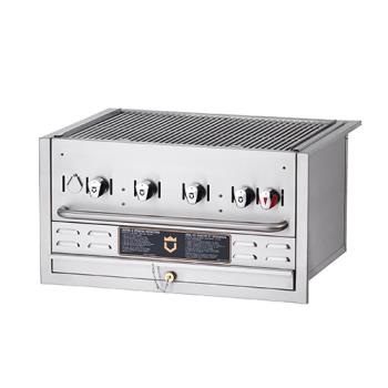 CROBI36NG - Crown Verity - BI-36 NG - Built-In Outdoor 36 in Natural Gas Charbroiler Product Image