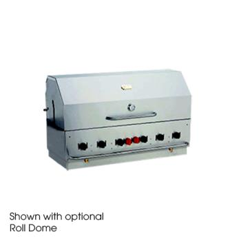 CROBI48NG - Crown Verity - BI-48 NG - Built-In Outdoor 48 in Natural Gas Charbroiler Product Image