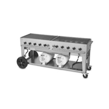 "CROCCB72 - Crown Verity - CCB-72 - Mobile 72"" Club Grill Product Image"