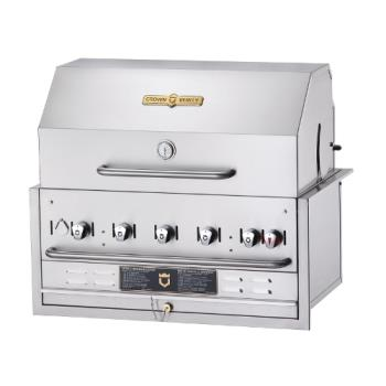 CROCVBI36PKG - Crown Verity - CV-BI-36PKG-LP - 34 in X 21 in Outdoor Propane Grill Product Image