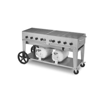 "CROCCB60LP - Crown Verity - CV-CCB-60 - Mobile 60"" Club Grill Product Image"