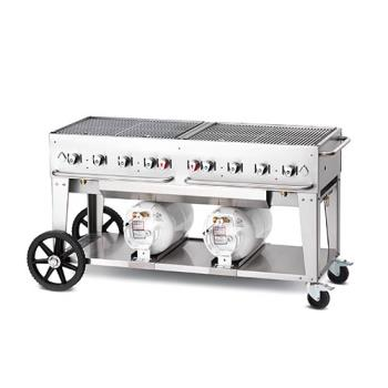 CROCCB60LP - Crown Verity - CV-CCB-60 - Mobile 60 in Club Grill Product Image
