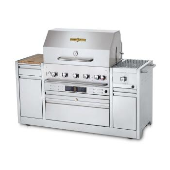 CROCVMBI36I - Crown Verity - CV-MBI-36I - 36 in LP Gas Hotel Series Grill Island Product Image