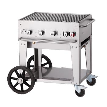 CROMCB30LP - Crown Verity - CV-MCB-30 - Mobile 30 in LP Charbroiler Product Image