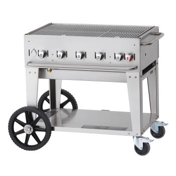 CROMCB36LP - Crown Verity - CV-MCB-36 - Mobile 36 in LP Charbroiler Product Image
