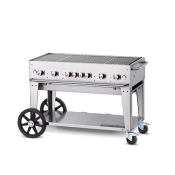 CROMCB48LP - Crown Verity - CV-MCB-48 - Mobile 48 in Liquid Propane Charbroiler Product Image