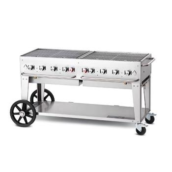 CROMCB60NG - Crown Verity - CV-MCB-60NG - Mobile 60 in Natural Gas Charbroiler Product Image