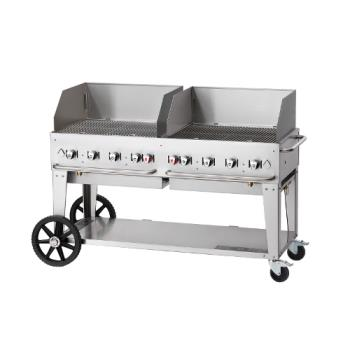 CROCVMCB60WGPLP - Crown Verity - CV-MCB-60WGP-LP - 58 in X 21 in Outdoor Propane Charbroiler Product Image