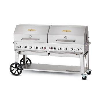 CROMCB72LPRD36722 - Crown Verity - CV-MCB-72RDP-LP - 72 in Mobile Liquid Propane Outdoor Charbroiler Product Image