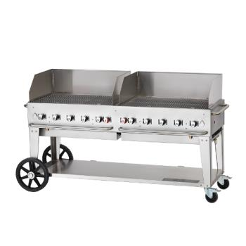 CROCVMCB72WGPNG - Crown Verity - CV-MCB-72WGP-NG - 70 in X 21 in Outdoor Natural Gas Charbroiler Product Image