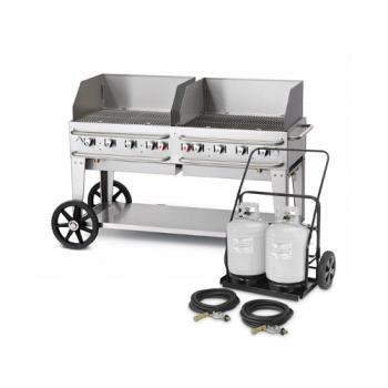 CROCVMCC60WGP - Crown Verity - CV-MCC-60WGP - 58 in X 21 in Mobile Propane Grill Product Image