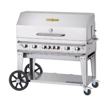 CROCVRCB48RDPSIBULK - Crown Verity - CV-RCB-48RDP-SI-BULK - 48 in Pro Series LP Outdoor Grill W/ Roll Domes Product Image