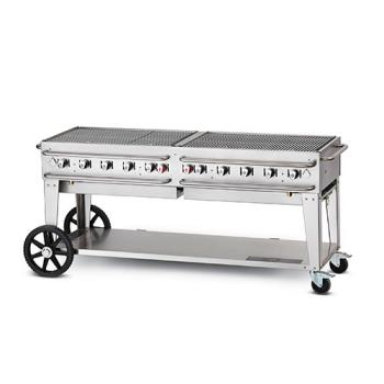 CRORCB72SI - Crown Verity - CV-RCB-72-SI - 72 in Single Inlet Outdoor Charbroiler Product Image