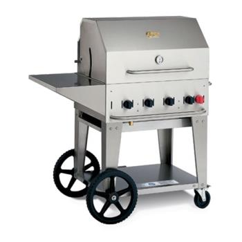CROMCB30PKGLP - Crown Verity - MCB-30PKG-LP - Mobile 30 in Liquid Propane Charbroiler With Accessories Product Image