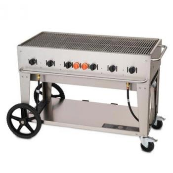 CROMCB48NG - Crown Verity - MCB-48-NG - Mobile 48 in Natural Gas Charbroiler Product Image