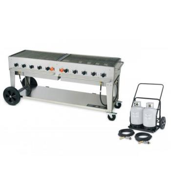 CROMCC72 - Crown Verity - MCC-72 - Mobile 72 in Charbroiler With Tank Cart Product Image