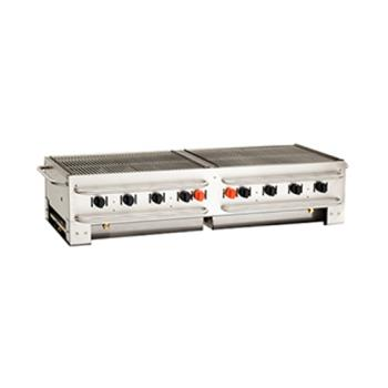 CROPCB60 - Crown Verity - PCB-60 - Portable Stacking 60 in Outdoor Charbroiler Product Image