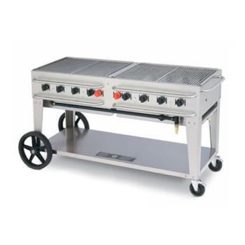 CRORCB60 - Crown Verity - RCB-60 - 60 in Double Inlet Outdoor Charbroiler Product Image
