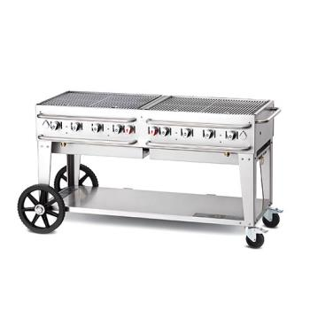 CRORCB60SI - Crown Verity - RCB-60-SI - 60 in Single Inlet Outdoor Charbroiler Product Image