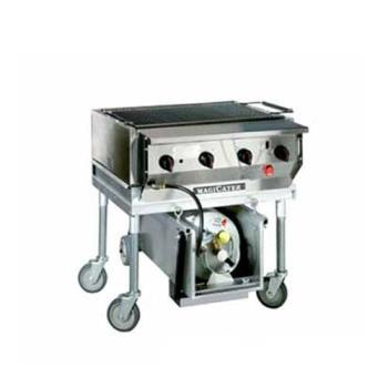 MAGLPAGA30 - MagiKitch'n - LPAGA-30 - 30 in Magicater Deluxe Portable Outdoor LP Charbroiler Product Image