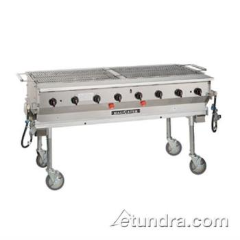 MAGLPG60 - MagiKitch'n - LPG-60 - 60 in Magicater Portable Outdoor Liquid Propane Charbroiler Product Image