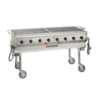 MAGLPG60 - MagiKitch'n - LPG-60 - 60 in Magicater Portable Outdoor LP Charbroiler Product Image