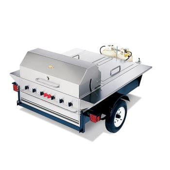 CROTG1 - Crown Verity - TG-1 - 48 in Towable Charbroiler With 2 Compartments Product Image