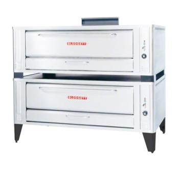 BLO1060DOUBLE - Blodgett - 1060 Double - 60 in Natural Gas Double Deck Pizza Oven Product Image