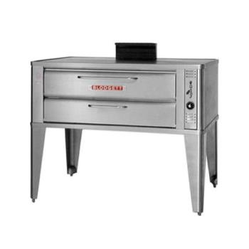 BLO911SINGLE - Blodgett - 911 Single - 51 x 30 in Gas Single Deck Oven Product Image