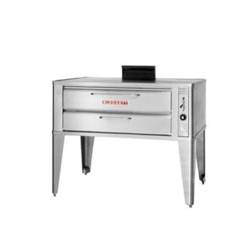 BLO911PDOUBLE - Blodgett - 911P Double - 33 x 22 in Gas Double Deck Pizza Oven Product Image