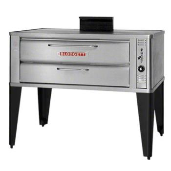 BLO911PSINGLE - Blodgett - 911P Single - 33 x 22 in Gas Single Deck Pizza Oven Product Image