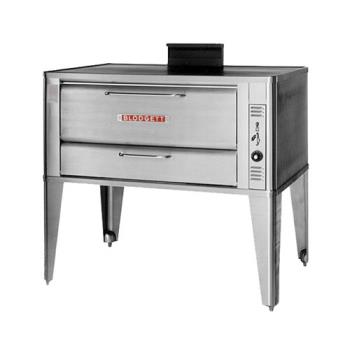 BLO951DOUBLE - Blodgett - 951 Double - 60 x 40 in Gas Double Deck Oven - 12 In High Bake Compartment Product Image