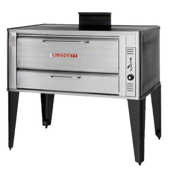 BLO951SINGLE - Blodgett - 951 Single - 60 x 40 in Gas Single Deck Oven - 12 In H Compartment Product Image